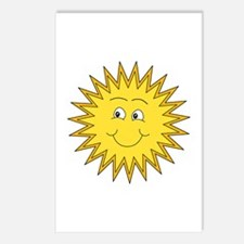Happy Sun in Summer Postcards (Package of 8)