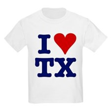 I LOVE TX Kids T-Shirt