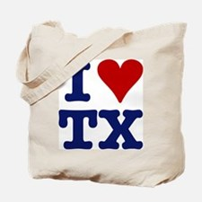 I LOVE TX Tote Bag