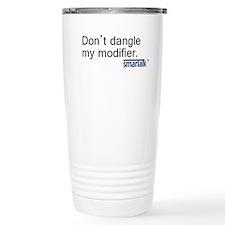 """""""Dangling Modifier"""" Travel Mug"""
