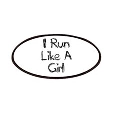 'I Run Like A Girl' Patches