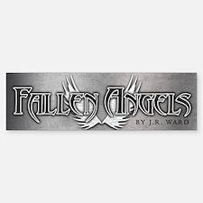 Fallen Angels Silver Bumper Bumper Bumper Sticker