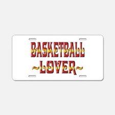 Basketball Lover Aluminum License Plate