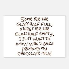 Chocolate Milk Postcards (Package of 8)