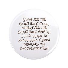"""Chocolate Milk 3.5"""" Button"""