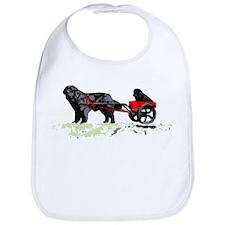 Puppy in Draft Cart Bib
