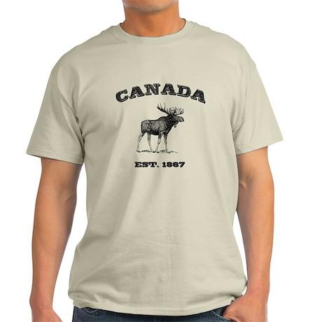 Canadian Moose Light T-Shirt