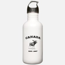 Canadian Moose Sports Water Bottle