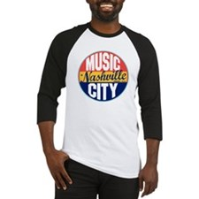 Nashville Vintage Label Baseball Jersey