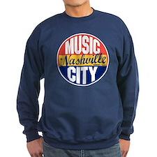 Nashville Vintage Label Sweatshirt