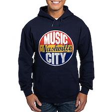 Nashville Vintage Label Hoodie