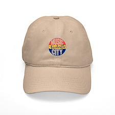 Nashville Vintage Label Baseball Cap