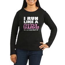 'I Run Like a Girl' T-Shirt