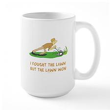 The Lawn Won Mug