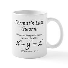 Fermat's Last Theorem Small Mug