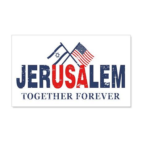 Jerusalem 22x14 Wall Peel