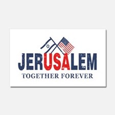 Jerusalem Car Magnet 20 x 12
