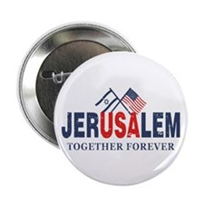 """Jerusalem 2.25"""" Button (10 pack)"""