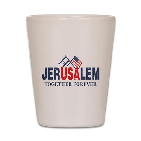 Jerusalem Shot Glass