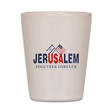Jerusalem Shot Glass