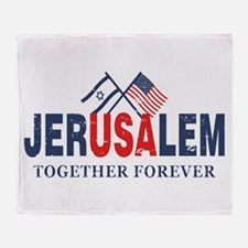 Jerusalem Throw Blanket