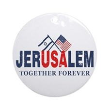 Jerusalem Ornament (Round)