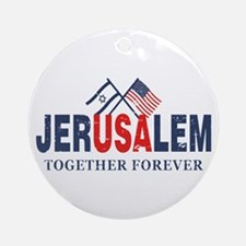 Jerusalem Ornament (Round)