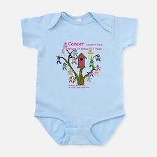 Cancer dosnt care where it gr Infant Bodysuit