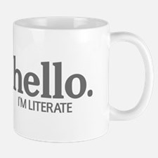 Hello I'm literate Mug