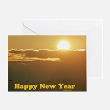 Sunrise Jewish Greeting Card