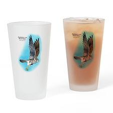 American Kestrel Drinking Glass