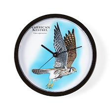American Kestrel Wall Clock