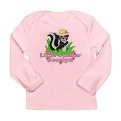 Little Stinker Jocelyn Long Sleeve Infant T-Shirt
