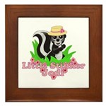 Little Stinker Jodi Framed Tile