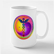 Chakra Mandala Large Mug