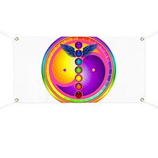 Chakra Mandala Banner