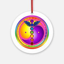Chakra Mandala Ornament (Round)