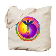 Chakra Mandala Tote Bag