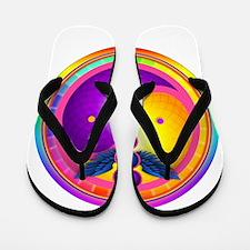 Chakra Mandala Flip Flops
