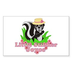 Little Stinker Joyce Decal