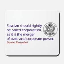 Fascism Mousepad