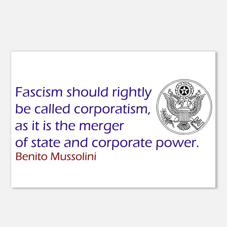 Fascism Postcards (Package of 8)