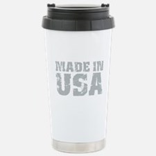 Made In USA Stainless Steel Travel Mug