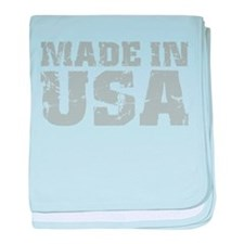 Made In USA baby blanket