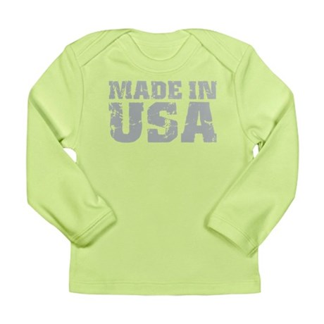 Made In USA Long Sleeve Infant T-Shirt