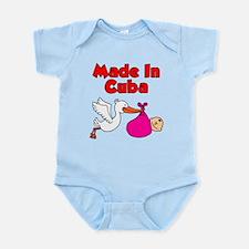 Made In Cuba Girl Infant Bodysuit