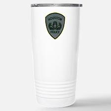 Houston Police E.O.D. Stainless Steel Travel Mug