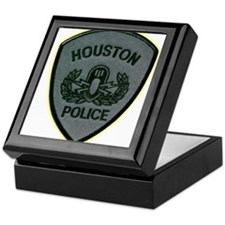 Houston Police E.O.D. Keepsake Box