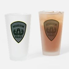 Houston Police E.O.D. Drinking Glass