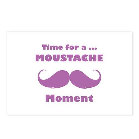 Moustache moment
